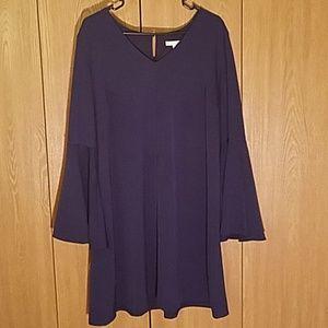 New York & Company bell sleeve sheath dress